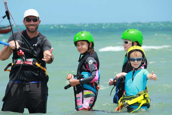 barrinha kiteschool kids lesson